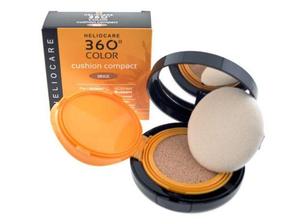Heliocare 360 colour cushion compact beige