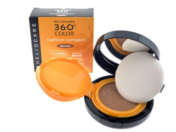 Heliocare 360 colour cushion compact bronze