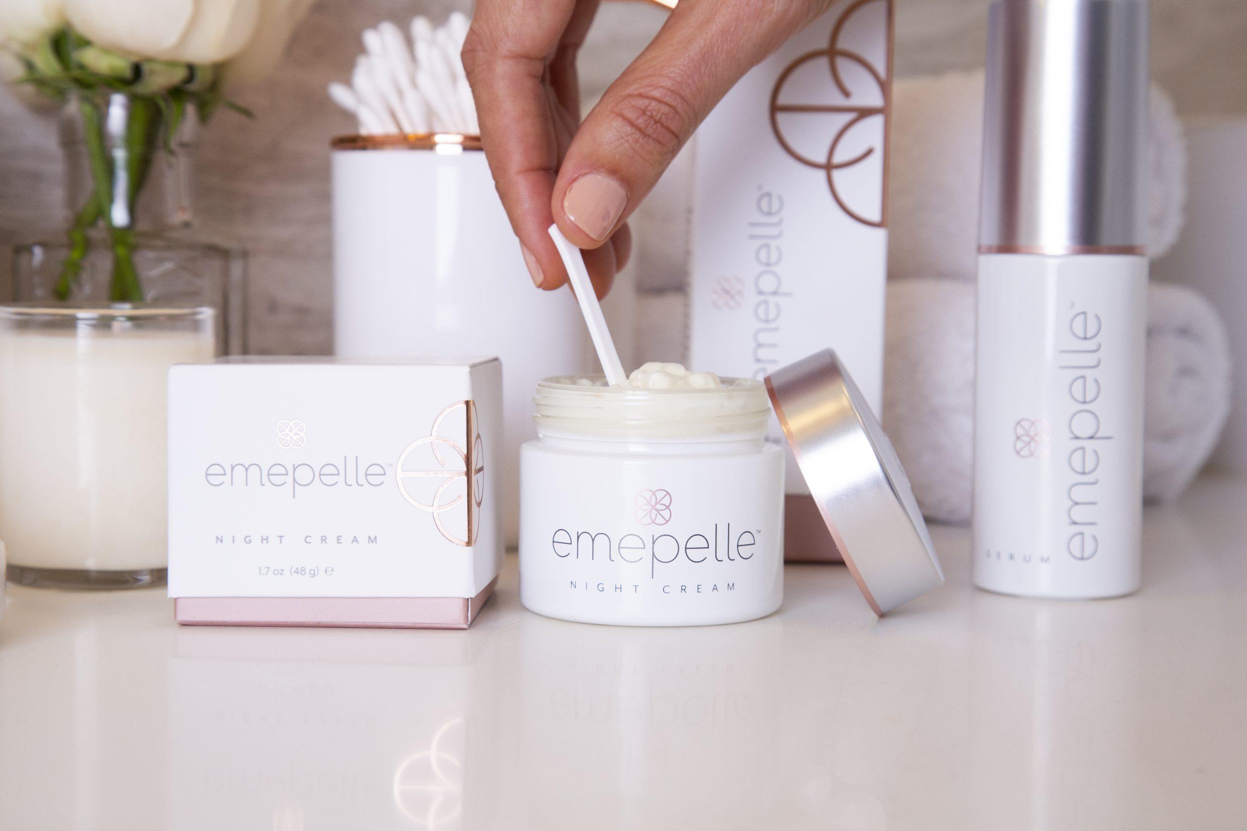 Emepelle™ Serum & Night Cream